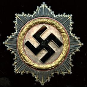 German cross in gold by C.F. Zimmermann