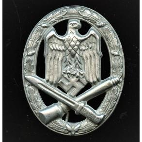 """General assault badge by F.W. Assmann & Sohn STEEL variant """"A"""""""