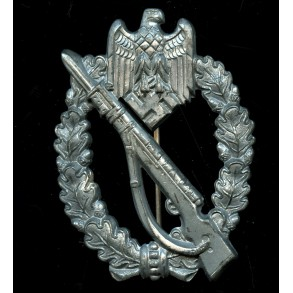 Infantry assault badge in silver by ShuCo