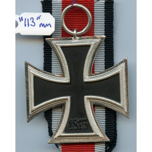 "Iron cross 2nd class by Hermann Aurich ""113"" MINT"