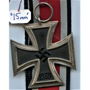 "Iron cross 2nd class by Friedrich Orth ""15"""