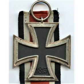 Iron cross 2nd class by Wilhelm Deumer