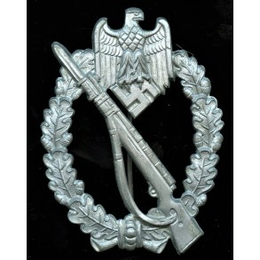 Infantry assault badge in silver by Steinhauer & Lück