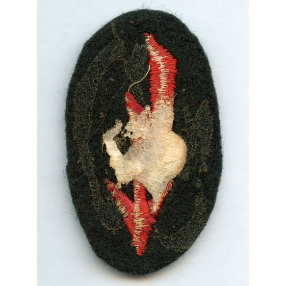 Panzer funker sleeve patch