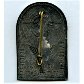 """DLV tinnie """"Ballontaufe Stuttgart 1935"""""""
