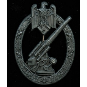 Army flak badge by Hermann Aurich