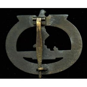 Kriegsmarine U-boat badge by Wilhelm Deumer.