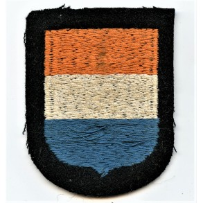 "SS Volunteer arm-shield for 23. SS Freiwilligen Panzer Grenadier Division ""Nederland"""