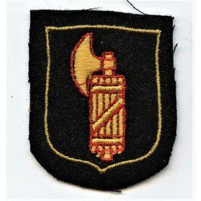 "SS Volunteer arm-shield for 29th Waffen Grenadier Division of the SS (1st Italian) ""Legione SS Italiana"""