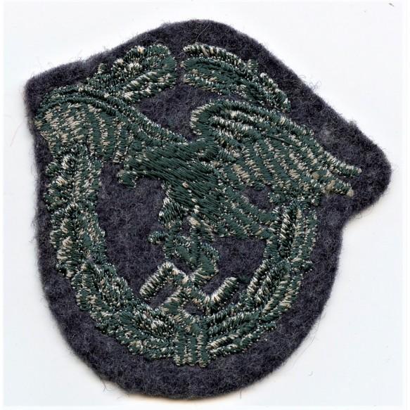 Luftwaffe obvserver badge in cloth