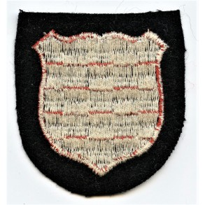"SS Volunteer arm-shield for 13th Waffen Mountain Division of the SS ""Handschar"" (1st Croatian)"