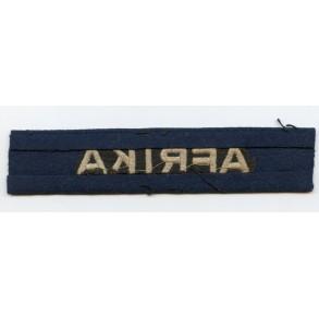 "Luftwaffe ""Afrika"" cuff title"