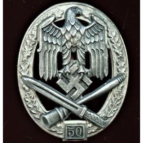 General assault badge 50 assaults by Rudolf Karneth