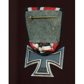 Iron cross 2nd class by Paul Meybauer, single mounted