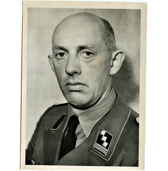 Period press photo of Reichsfischermeister Wilhelm Kühl 1942
