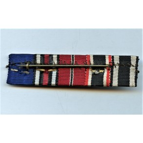 5 place ribbon bar active WW1 veteran