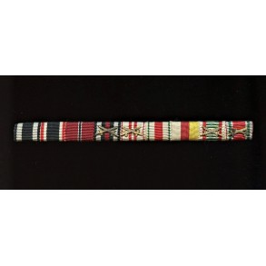 9 (!) place sew-on ribbon bar