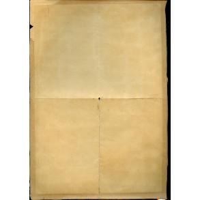 Minesweeper award document to K. Rademacher, Tromsø 1941