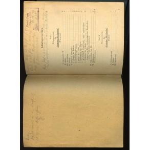 """1944 booklet """"Dienstanweisung Gemischte Kfz.- Streifen"""""""