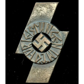 "DJ proficiency badge in silver by Rudolf Wächtler & Lange ""M1/35"""