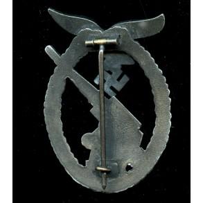 Luftwaffe flak badge by Wilhelm Deumer