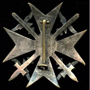 Spanish Cross in silver by Petz & Lorenz