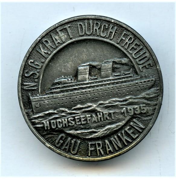 """KDF """"Hochseefahrt 1935"""" tinnie"""