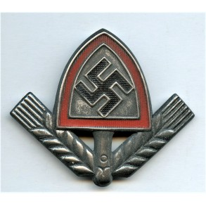 RAD cap badge by Berg & Nolte 1944