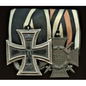 1914 Iron cross medal bar