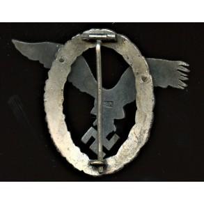 "Luftwaffe pilot badge by C.E. Juncker ""CEJ"""