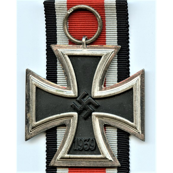 "Iron cross 2nd class by Gustav Brehmer ""13"" + package"