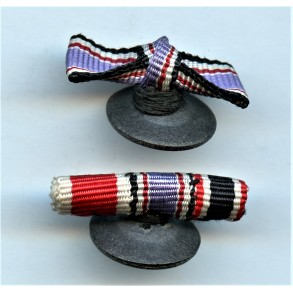 2 Luftschutz Social wellfare miniature bow ribbons