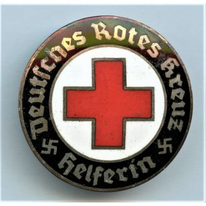 "DRL Red cross helper pin ""Ges. Gesch"""