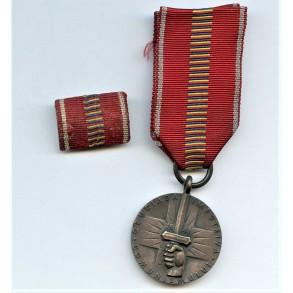 Crusade Against Communism Medal + ribbon bar