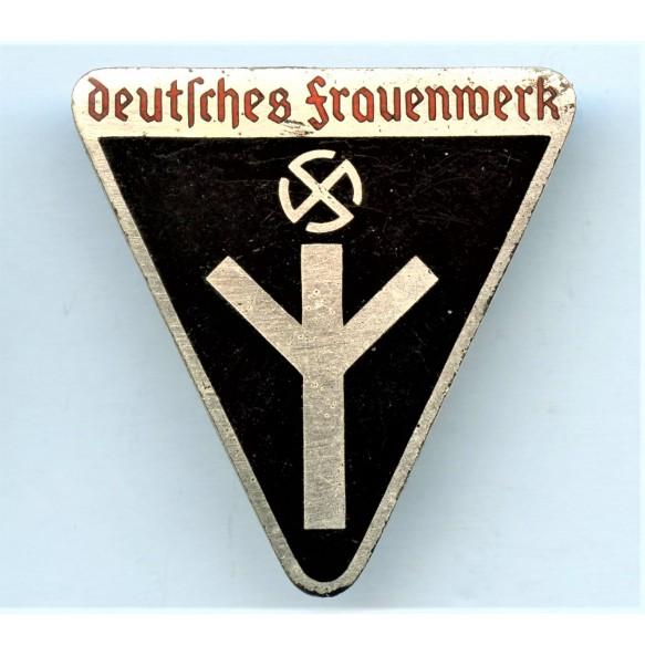 """DFW """"Deutsches frauernwerk"""" pin by W. Deumer """"M1/120"""""""