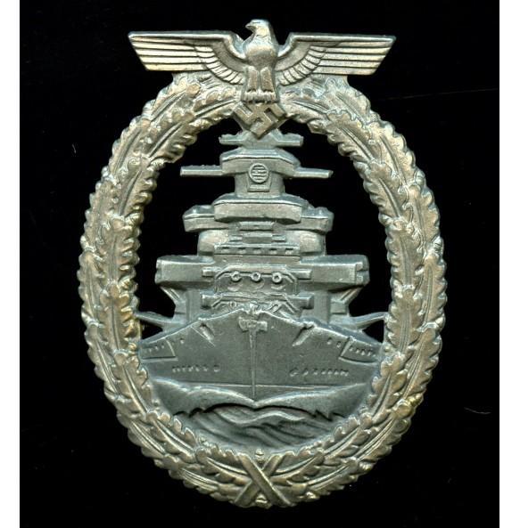 "Kriegsmarine High Sea Fleet badge badge by Friedrich Orth ""FO"""