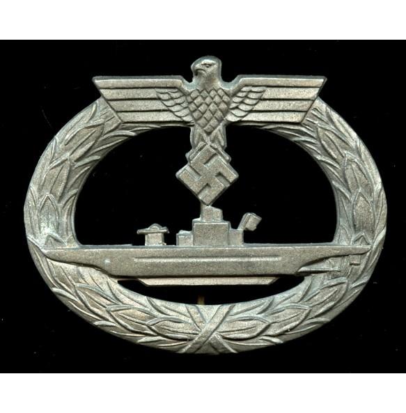"""Kriegsmarine U-boat badge by Friedrich Orth """"FO"""""""