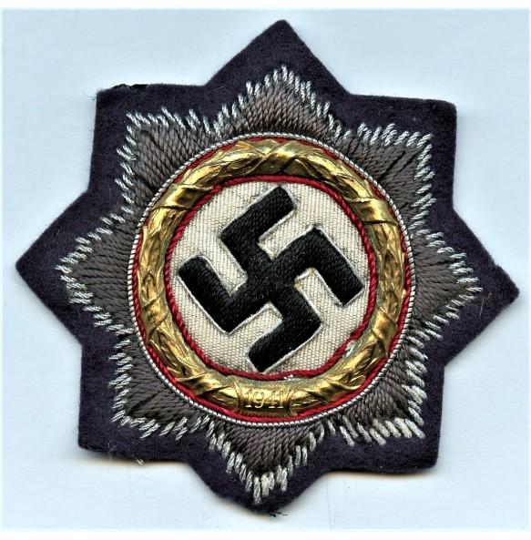 German cross in gold for Luftwaffe troops