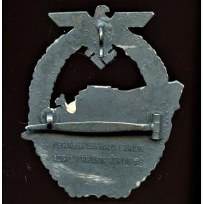 Kriegsmarine S-boat badge, 2nd pattern by Schwerin