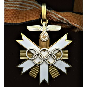 1936 Olympia medal 1st class neck order