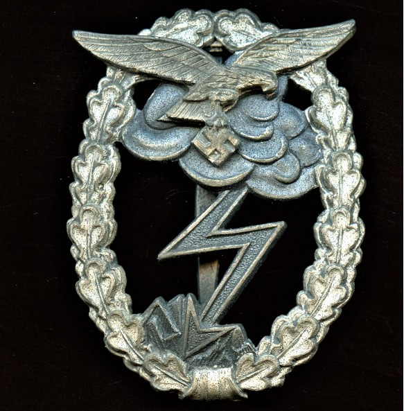 Luftwaffe ground assault badge by M.u.K.5