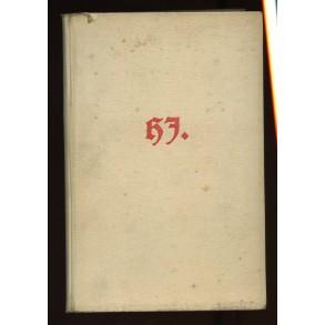 """Period HJ book: """"Das Kommende Deutschland"""" by Kaufmann Günter 1940"""