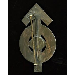 """HJ proficiency badge in bronze """"4642"""""""