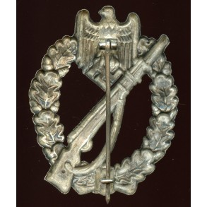 Infantry Assault Badge in silver by Hymmen & Co