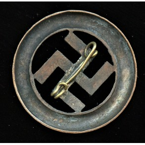 1933 Munich putch remembrance pin by unknown maker
