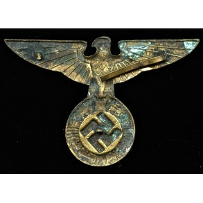 Large style early political cap eagle