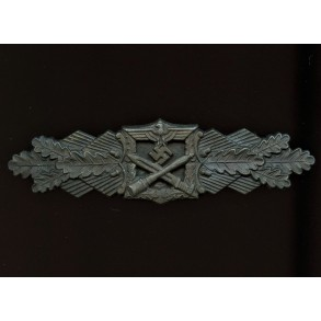 "Close combat clasp in bronze by Josef Feix ""JFS"""