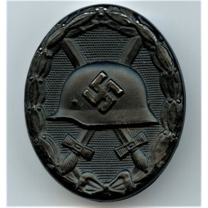 "Wound badge in black by Hymmen & Co ""L/53"""