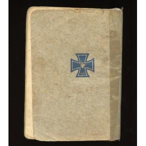 """Period Wehrmacht song book: """"Morgen marschieren wir"""""""