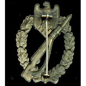 Infantry Assault Badge in bronze by Otto Schickle
